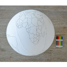 Colour the Earth YOU CAN COLOR A GLOBE!