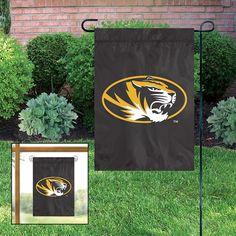 Missouri Tigers NCAA Mini Garden or Window Flag 15x10.5