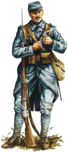 Legion Etrangere 1914 - pin by Paolo Marzioli