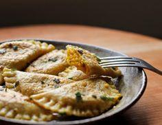 Pumpkin & Sage Ravioli #Recipe