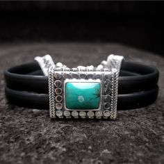 Turquoise Classic Rubber