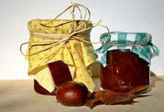 Recycled Jars,Homemade Jam and Jar Covers. Recycled Jars, Long Term Food Storage, Fall Fruits, How To Make Jam, Jam Jar, English Food, Harvest Time, Italian Cooking, Jar Gifts