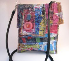 Upcycled one of a kind bag by itzaChicThing on Etsy. Sold.