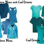 How to Identify Warm Blues and Cool Greens