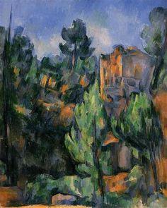 Bibemus Quarry - Paul Cezanne