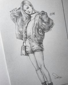 #xuanyi  #wjsn #wjsnfanart  #cosmicgirls #drawing  #kpopfanart #kpop
