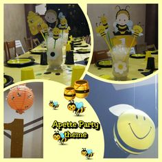 Bee party Ape party Ape maya party