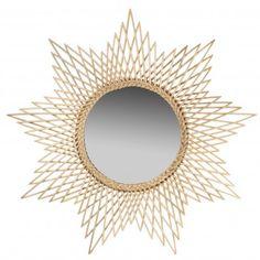 1000 images about miroirs soleil on pinterest sunburst for Miroir mural soleil