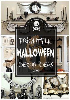 6 Frightful Halloween Decor Ideas