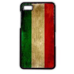 Italy Flag TATUM-5713 Blackberry Phonecase Cover For Blackberry Q10, Blackberry Z10