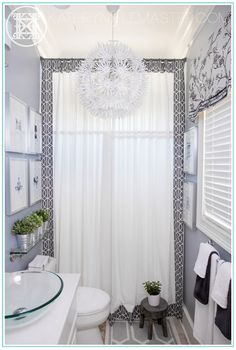 Kathryn J. LeMaster's bathroom at the ASO Designer House XXII