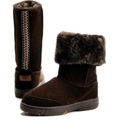 Ugg Australia Tall Boot Ultimate Braid Brown Suede 5340 - F8008J