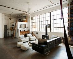 More warehouse windows, please. And the stove!