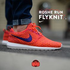 new arrival a5d3c 4cf77 nike rosherun flyknit rosherunflyknit baasbovenbaas Nike Roshe Run  Flyknit RedGrey - Now available online, priced at €129,99 For more info  about your ...