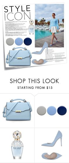 """""""Untitled #143"""" by ajla55 ❤ liked on Polyvore featuring Post-It, Balmain, Burberry, Marc Jacobs and Le Silla"""