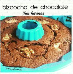 Bizcocho de quinoa y chocolate - sin harinas