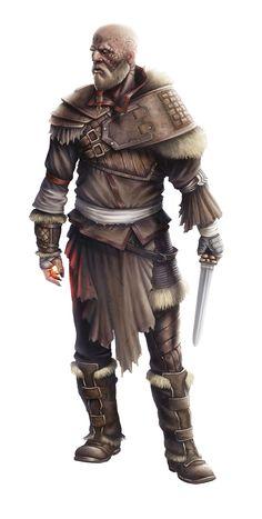 Amanach the Warlord. By Giuseppe De Iure (www.giuseppedeiure.wix.com/home).