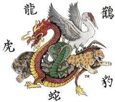 Shaolin Five Animals Kung Fu Shaolin Kung Fu, Kung Fu Martial Arts, Chinese Martial Arts, Martial Arts Workout, Tai Chi Chuan, Tai Chi Qigong, Karate Shotokan, Kenpo Karate, Kung Fu Lessons