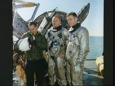 Neil Armstrong and the Gemini 8 crew
