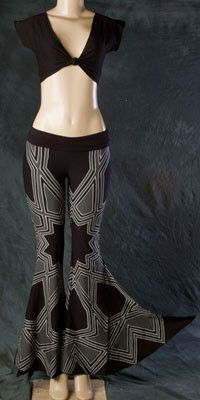Phoenix Rising Melophoenix Turkstar Pants, Black   Shop Festival Fire Fashion