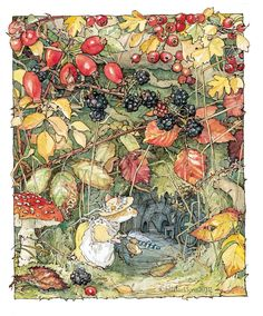 Brambly Hedge - Gallery Jill Barklem Children's book series!