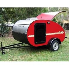 Small Camping Trailer, Small Camper Trailers, Tiny Camper, Small Trailer, Small Campers, Vintage Campers Trailers, Vintage Caravans, Camping Trailers, Rv Campers