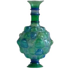 Shari Mendelson, Blue & Green Vessel, USA 2011   From a unique collection of antique and modern sculptures at http://www.1stdibs.com/furniture/more-furniture-collectibles/sculptures/