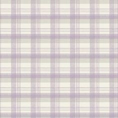 Kitty Check Wallpaper - Plum at Homebase -- Be inspired and make your house a home. Buy now.
