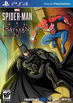 Spider-Man and Batman by WembleyAraujo on DeviantArt Batman Vs Spiderman, Mysterio Spiderman, Superhero, Dc Comics Vs Marvel, Marvel Heroes, Marvel Avengers, Comic Books Art, Comic Art, Marvel And Dc Crossover