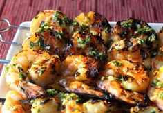 Now that we all have our very own culinary herb gardens , I thought I'd post a recipe that takes full advantage. This grilled garlic and h...
