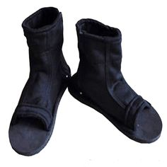 Naruto Uchiha Sasuke Haruno Sakura Ninja Cosplay Black Shoes Sandals Boots Kakashi Shoes Cosplay Costume Accessories Size 43. A pair of Black Ninja Shoes / Sandals for cosplay. Size 43. Condition: 100% Brand new. Naruto sandal suitable for boys, girls, and all teenagers. Naruto sandal suited for collection, birthday gift for Halloween and Christmas. All sizes available for your needs, please check the size chart.