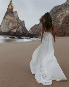 from dusk till down From Dusk Till Down, Beach Photography Poses, Dream Wedding Dresses, Wedding Gowns, Girls White Dress, Fashion Photography Inspiration, Summer Aesthetic, Look At You, Bridal Collection
