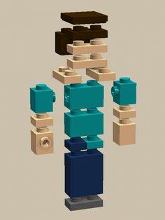 LEGO Minecraft: A LEGO® creation by Chris D. : MOCpages.com