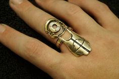 Mass Effect Omni Tool Ring by AmmnraCreations on Etsy, $80.00