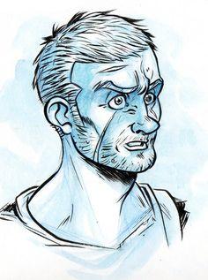 Warm up doodling by ElioFinocchiaro.deviantart.com on @deviantART