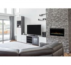 """Dimplex - Electric Fireplaces » Wall-mounts » Products » Prism Series 34"""" Wall-mount"""