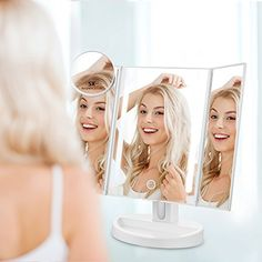 #makeupartist this mirror is 70% off during Amazon's 12 days of deals this Christmas season! Get it while it lasts! #makeupmirror #makeup #makeupgoals #affiliate #mua #discount #sale #saleprice