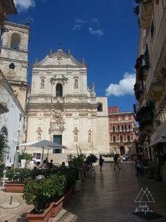 Martina Franca, Italy, looking at the Basilico of San Martino.