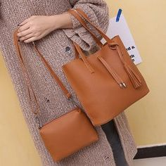 SHARE & Get it FREE | Vintage Crossbody Bag Tassels Handbag Two Piece SetFor Fashion Lovers only:80,000+ Items • New Arrivals Daily • Affordable Casual to Chic for Every Occasion Join Sammydress: Get YOUR $50 NOW!