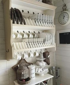 Shabby and Charming: In Finland Kristiina home