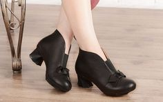 4ae72932b 2 Colors Women s Handmade Leather short Boot Mori girl by Dwarves