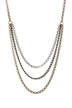 Heather Kahn Supernova Multi Chain Drape Necklace by Alisa Michelle on @HauteLook