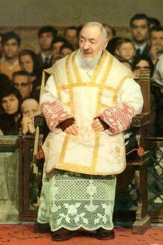 Padre Pio -- you just can't get enough of him!