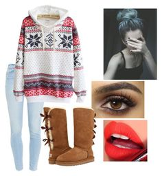 """""""Untitled #18"""" by jocygirl on Polyvore featuring Paige Denim, Fiebiger and UGG Australia"""