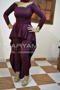 #فساتين #فساتين_سهرة #فساتين_محجبات #بيت_ازياء #اتيليه #فساتين_سواريه #Maryam_haute_couture Tel: 01009988108 (Whatsapp) www.فاشون.com Hijab Fashion, Fashion Dresses, Dress Skirt, Peplum Dress, Mother Of The Bride Dresses Long, Eid Outfits, Eid Dresses, Baby Gown, Sari