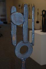Ernstian Eclipse (rogerandcarole) Tags: sculpture iron forged 2007 rogerlee samscorergallery
