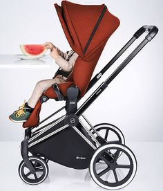 Cybex Priam - Best Strollers 2015 By Category on Dailybabyfinds.com