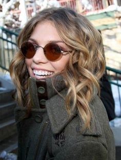 Nice Sunnies... Nice Hair!!! Nice Coat