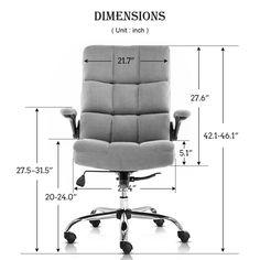 Inbox Zero Ergonomic Executive Chair & Reviews | Wayfair Executive Office Chairs, Office Seating, Zero, Furniture, Online Marketing, Home Decor, Decorating, Design, Decor