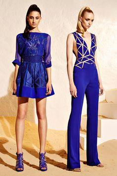 Zuhair Murad Resort collection 2015 Fashion Show Blue Fashion, Look Fashion, High Fashion, Fashion Beauty, Fashion Show, Fashion Design, Gypsy Fashion, Net Fashion, Zuhair Murad